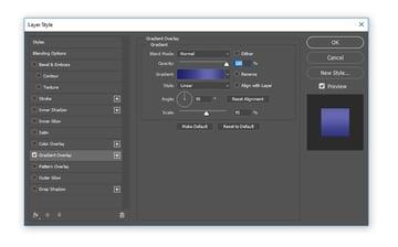 Create a gradient overlay