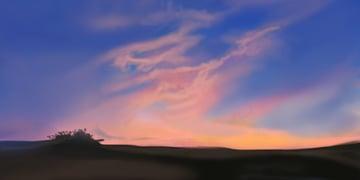 Soften the sky