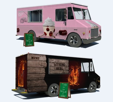 Food Truck Mock-Up