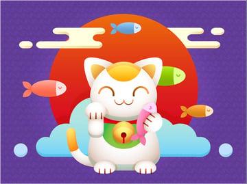 Create a Maneki Neko Lucky Charm in Adobe Illustrator