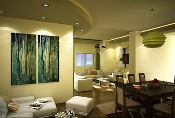 Living Room Interior Design by Reham Magdy