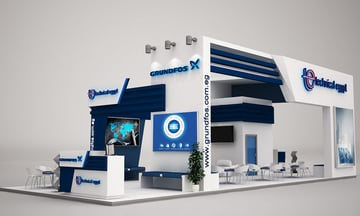 Grundfos Booth by Reham Magdy