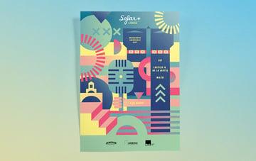 Sofar Sounds Lisbon Poster by Constanca Soromenho