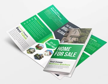 Real State Trifold Brochure