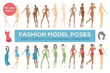 Fashion Illustration Model Poses