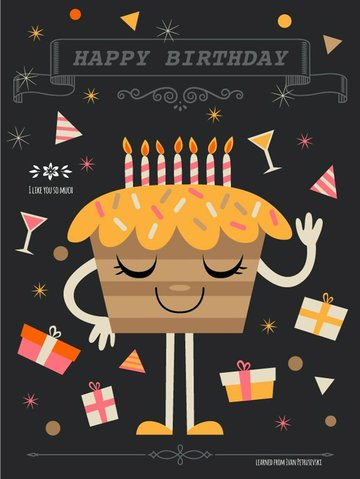 How to Create a Quirky Birthday Illustration in Adobe Illustrator