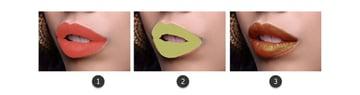 Change the lip color