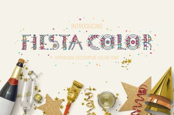 Fiesta Color Font