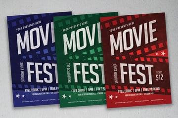 Movie Fest Flyer