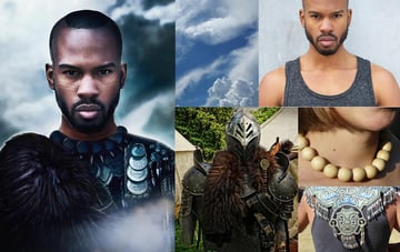 Black Panther Movie Poster References