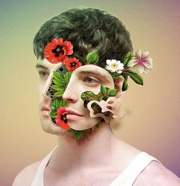 Floral Faces - Photoshop Action