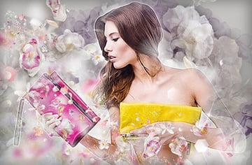 Floral Breeze Photoshop Action