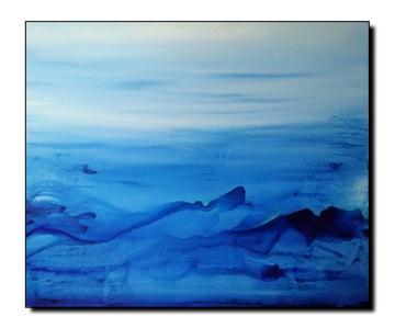 Acrylic on Canvas Seascape