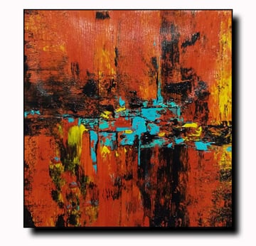 Acrylic on Canvas Landscape