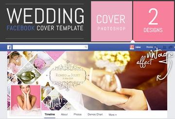 Wedding Photo Album Facebook Cover