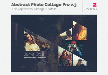 Abstract Photo Collage Pro v3