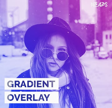 Gradient Overlay Photoshop Action