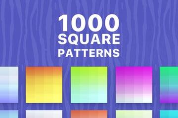 1000 Square Patterns