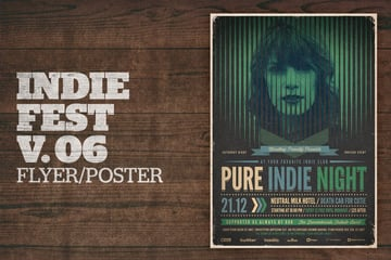 Indie Fest Poster