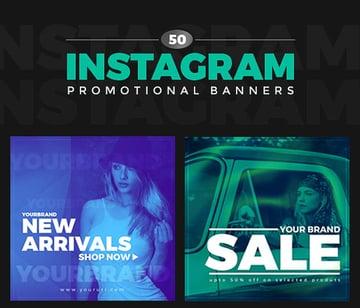 50 Duotone Instagram Banners