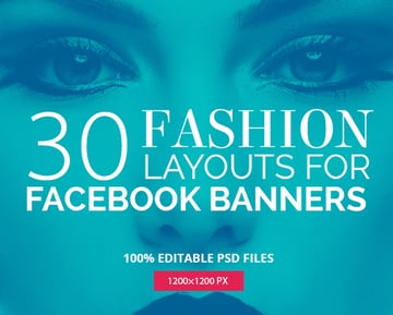 30 Duotone Facebook Promotion Banners