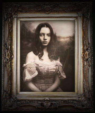 Vintage Victorian Photo Manipulation Photoshop tutorial by Melody Nieves