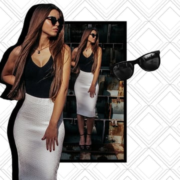 Beyonce Instagram Photo Collage Photoshop Tutorial by Melody Nieves