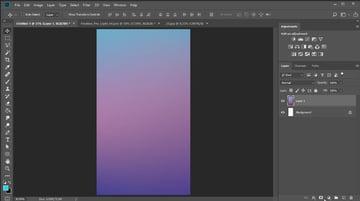 Add a gradient background