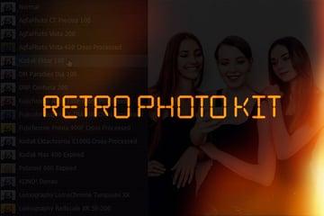 Retro Effect Photoshop Kit