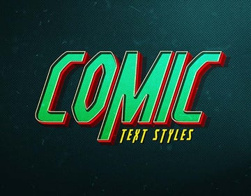 Comic Text FX