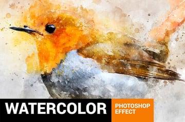 Watercolor Artist Photoshop Action