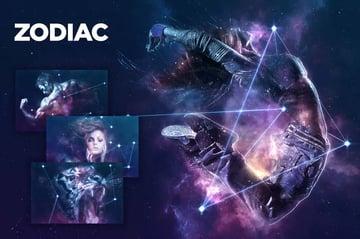 Zodiac Photoshop Action