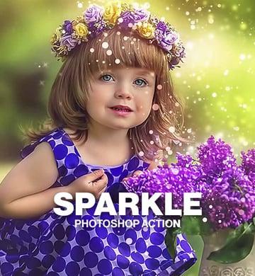 Light Sparkle Photoshop Actions
