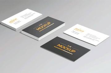 Business Card Mockup Pack