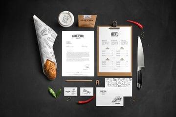 Restaurant Food Mockup