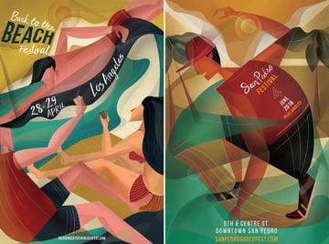 LA Promotional Poster Design