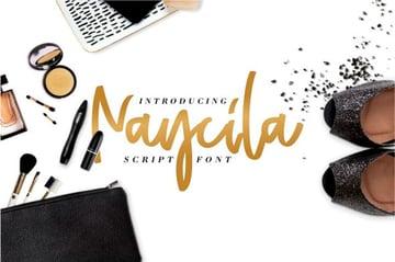 Naycila Script Font