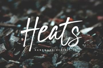 Heats Script Font