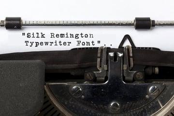Silk Remington Typeface