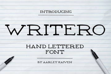 Writero Font