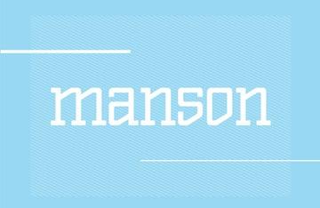Manson Font Family