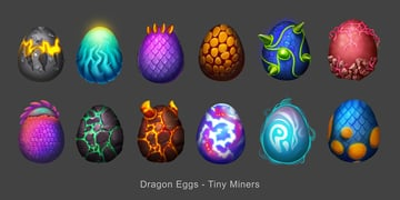 Game Assets - Dragon Eggs