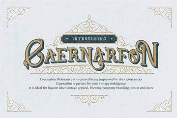 Caernarfon Font