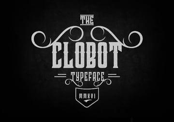 Clobot Typeface