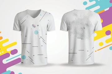 Creative Modern T-shirt Mockup