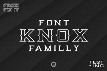 Knox Font Family