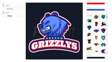 Aggressive Animals Logo Template