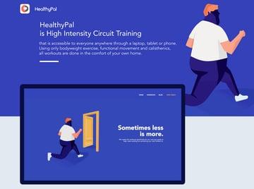 HealthyPal Website