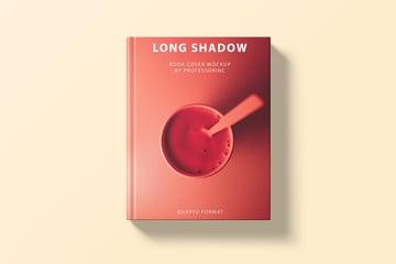Long Shadow Book Cover Mockup