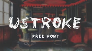 UStroke Typeface